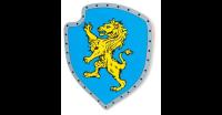 Holzschild Gelber Löwe