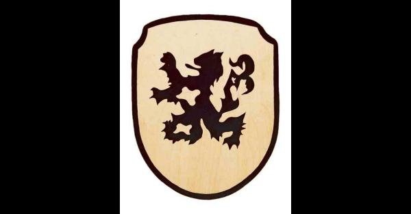 Schild Löwe