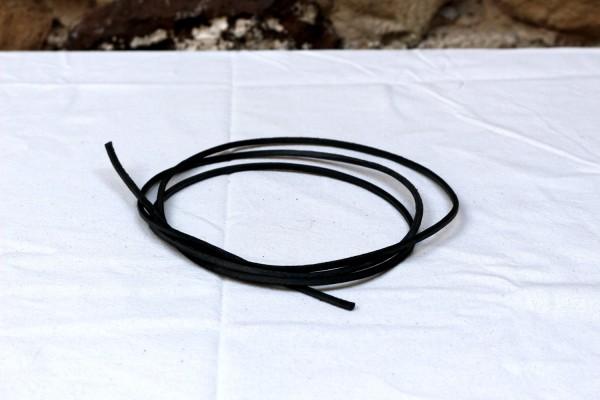 Vierkantriemen, schwarz, 150 cm